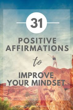 [FREE WORKBOOK] 31 Positive Affirmations to Improve your Mindset   Mindfulness   Growth Mindset   Positive Thoughts   Personal Development   Self Discovery