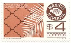 How cool are these Mexico Exporta stamps? I discovered them here on a blog I recently discovered (and love) called seven eight.  She found them on thistle and ink This one below is my favorite!