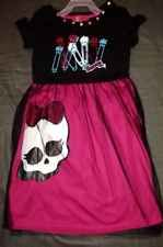 Monster High Girl's Dress New With Tag Size 6/6X Clothing New Style