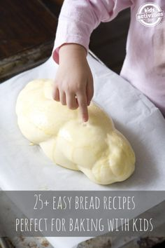 Brot backen mit Kindern - einfache Brotrezepte - Baking with Kids - Easy Bread Recipes, Cooking Recipes, Kids Baking Recipes, Healthy Cooking, Cooking Lamb, Cooking Corn, Cooking Bread, Fast Recipes, Baking Ideas