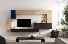 Modularity living room free!!!!! Composición modular colgada para salón. #mueblesmodernos #livingroom