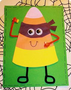 The Candy Corn Bandit...a making predictions activity.