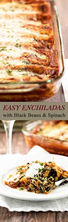 Smart shortcuts make these enchiladas easy enough for a weeknight dinner…