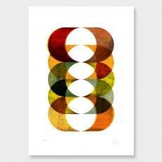 Haust Art Print by Pencil & Hammer
