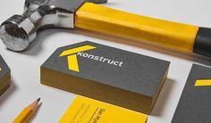 Konstruct Construction Company Branding