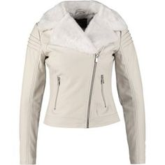 Buy White Dorothy perkins Leather jacket for woman at best price. Compare Jackets prices from online stores like Zalando - Wossel United States Jackets For Women, Leather Jacket, Boho, Clothes, Fashion, White Colors, Jackets, Women, Moda