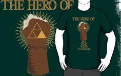 THE LEGEND OF ZELDA: The Hero by Manbalcar