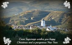 Christmas greetings from the Lecrín Valley May this festive season bring you health and joy. With best wishes from Casa Tagomago.  Foto by Susan of www.casatagomago.com