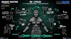 Intermediate Full Body Calisthenics Routine