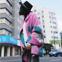 Fashion Printing Women Imitation Cashmere Warm Scarves Ladies Office Shawls