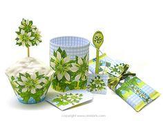 Anni Arts December Birth Flower and Gem Printable Crafts