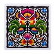 Folk Embroidery Patterns Colorful Kashubian flower motif on a mouse pad. This is a flexible, soft, rubber composite mouse pad with a non skid back - Earn 10 Points for every dollar you spend! Polish Embroidery, Folk Embroidery, Learn Embroidery, Embroidery Patterns, Folklore, Ethno Design, Folk Print, Polish Folk Art, Scandinavian Folk Art
