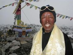 Apa Sherpa holds the record of climbing Mt Everest 21 times as of May 2011