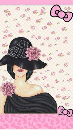 Pink Queen Wallpaper, Flowery Wallpaper, Iphone Wallpaper Glitter, Rose Wallpaper, Girl Wallpaper, Cute Wallpaper Backgrounds, Pretty Wallpapers, Funny Wallpapers, Flamingo Art