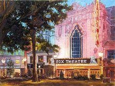 Fox Theatre in St.Louis by Irek Szelag