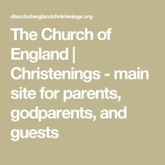 The Church of England Christenings, discover all you need to know about choosing, planning and going to a Church of England christening. Church Of England, Christening, Parents, How To Plan, Math, Mathematics, Fathers, Math Resources, Raising Kids
