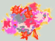 Ishita Sharma  #ipadart #doodle  Lavender Hues Art - Thinking in colors: red & pinks (mostly)
