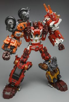 Transformers Warbotron WB-03 Computron Complete Combiner Set❤Thank❤You✿I❤❤❤You❤