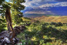 Big Lost River Valley, Idaho.