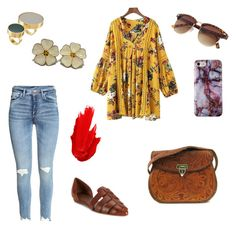 """""""Happy Hippie"""" by livnajem on Polyvore featuring moda, Marni, Vince y Maybelline"""