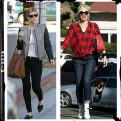 Do you want the perfect way to dress up jeans? Try classic plaid!