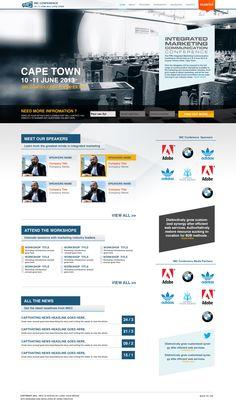Web Design, UX, UI, Corporate, Event Website, Landing Page