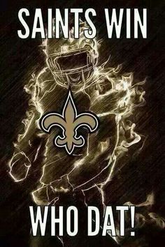 SAINTS WIN! WHO DAT! SAINTS BEAT THE BUCCANEERS ON THE LAST GAME OF THE SEASON!