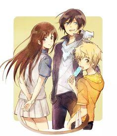 Hayori, Yukine and Yato