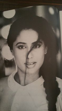 Smita Patil, Indian film Actoress of Hindi and Marathi cinema from decade of 1980's