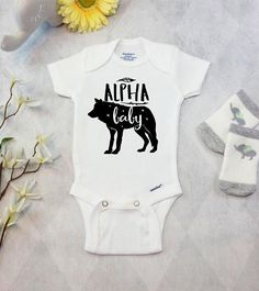 7a92b8910 Wolf Baby Onesies® Brand Bodysuit Baby Wolf Shirt Newborn Take Cute Baby  Shower Gifts,