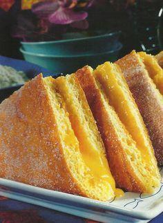 Receita de Guardanapos - Estes bolos de pastelaria são do agrado de todos, especialmente das crianças. Surpreenda o seu filho e os seus amiguinhos num lanche ou na festa do seu aniversário.