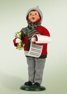 """""""Boy with Bells"""" a product from the Holiday Carolers."""