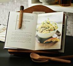 Pottery Barn Recipe Holder Book