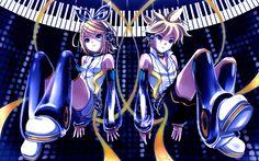Descargar fondos de pantalla Kagamine Rin, Kagamine Len, manga, Vocaloid