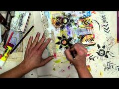Watch the Process - I GET TO art journal page