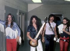 Musicians Backstage in the 1970s: The Photos