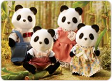 "Calico Critters Wilder Panda Bear Family - International Playthings - Toys""R""Us Panda Family, Elephant Family, Kids Store, Toy Store, Wild Panda, Calico Critters Families, Family Set, Sylvanian Families, All Toys"