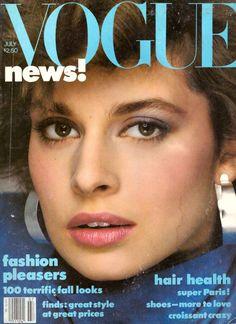 1982 Vogue Magazine Nastassja Kinski Pierre Cardin Gia Carangi David Hockney 80s | eBay