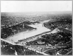 Aerial view of Philadelphia, Pennsylvania. Ca. 1893.