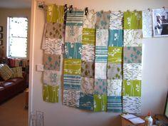laura cameron quilt in progress