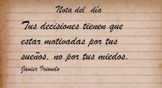 #Miedos y decisiones