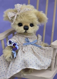 Dorothea...my newest Bébé - by Three O'clock Bears