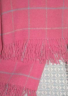 Tweedmill New OverCheck Blossom Blanket | Coast & Country Interiors