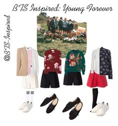 """BTS Inspired: Young Forever"" by bts-inspired ❤ liked on Polyvore featuring Yves Saint Laurent, MSGM, Chloé, Gucci, Topshop, Bonobos, Alexander McQueen, Dorothy Perkins, Falke and Wet Seal"