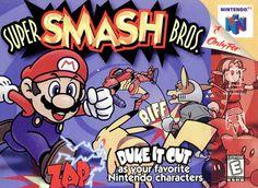 Super Smash Bros Nintendo 64 Cover