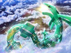 Pokemon Wallpaper featuring Rayquaza. #Pokemon #Rayquaza #Wallpaper