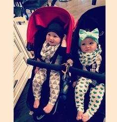 Check out the double stroller that Kim Zolciak Biermann from Don't Be Tardy is using to for her twins.