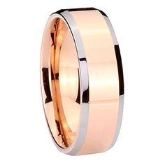 Rose Gold Two Toned 8mm Solid Tungsten Ring Mens Wedding Band, Tungsten Carbide, http://www.amazon.com/dp/B00OWPU5HC/ref=cm_sw_r_pi_awdm_b-fawb1DXBV97