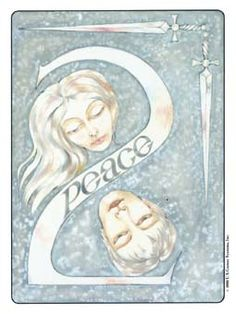 Image result for 2 of swords gill tarot
