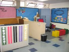 Classroom setup for students with Autism- for related pins and resources follow http://www.pinterest.com/angelajuvic/autism-special-needs/